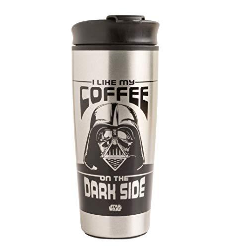 Star Wars Darth Vader I Like My Coffee On The Dark Side Metal Travel Mug