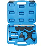 DPTOOL Engine Camshaft Timing Locking Tool Kit Compatible with Ford Focus Fiesta Mazada 1.25 1.4 1.6 1.7 1.8 2.0 Twin Cam 16V Engine Ecoboost 1.6 Ti-VCT 1.5/1.6VVT 2.0 TDCi 303-1097 303-748 303-1550