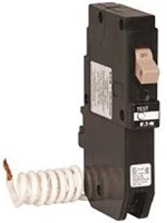 EATON 66C1445G81 Ch Series Single Pole Gfci Breaker, Self-Test, 120-240 Volt, 15 Amps