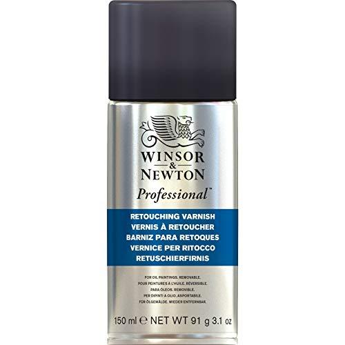 Winsor & Newton 3034983 Ölmalmittel, Künstler Retuschierfirnis, 150 ml Spray, ein Zwischenfirnis, der schnell zu einem nicht vergilbenden glänzenden Film trocknet