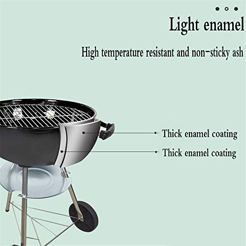 41NptV2SXBL - YWZQ Charcoal BBQ Grill Pit, Outdoor-Camping-Kocher Garten Grill Werkzeuge Grillzubehör Kochen Werkzeuge Küchen