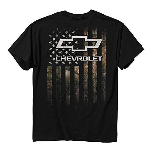 Buck Wear Chevy Camo Accent Flag T-Shirt