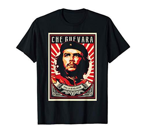 Che Guevara Viva La Revolucion Retro Vintage Style T-Shirt