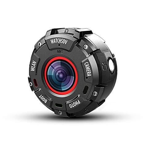 1080P Full HD Camara Deportiva Acuatica,Wifi 20M Impermeable (No Carcasa) Visión Nocturna Reloj Camara Espia Acuatica Sumergible Oculta Con Accesorios Para Moto&Bicicleta&Outdoor Extremos Sport,Camera