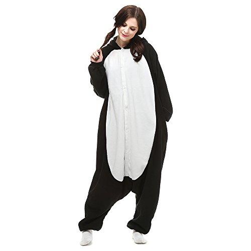 Disfraces de Cosplay para Adultos Pijamas de Animales One Piece pingüino, L
