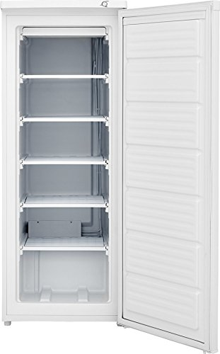 Frigidaire FFFU06M1TW 23 Inch Freestanding Freezer with 6 cu. ft. Capacity in White