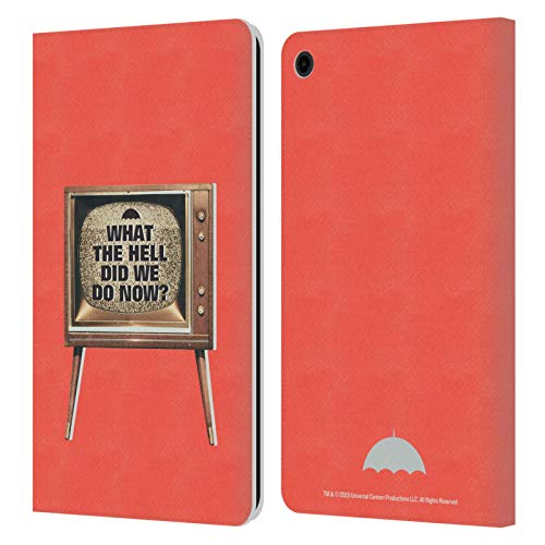 Head Case Designs Officially Licensed The Umbrella Academy TV Quote Season 2 Graphics Leather Book Wallet Case Cover Compatible with Fire HD 8 (2015) (2017) (2018)