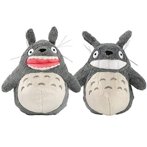 2 Piezas De Gran Tamaño Miyazaki Hayao Mi Vecino Totoro Juguetes De Peluche 40Cm, Lindo Muñeco De Peluche Suave Almohada Muñecas Regalo