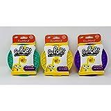Cefa Toys - Go Pop! Original, Juguete Táctil de Ingenio, Sensorial y Anti Estrés, Apto para Niños a Partir de 3 Años, Colores Aleatorio en Morado, Amarillo y Verde - 60g