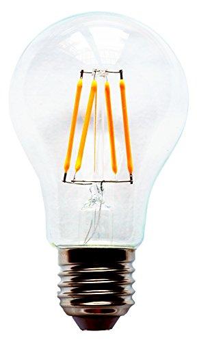 Vintage Deco Alimaz LED Bulb 4W equivalente 40W - Luce calda design retrò [Classe energetica A ++]