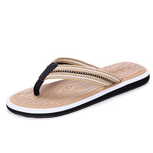 Herren-Hausschuhe Sommer-Trend Anti-Rutsch-personalisierte Strandurlaub ( Farbe : 3 , größe : US:11\UK:10\EUR:47 )
