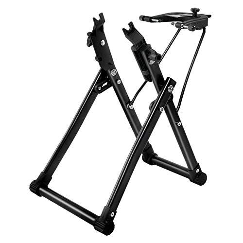 Fahrradständer, Fahrrad-Rad-Wartung Ständer Schwarz