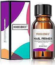 Modelones Professional Natural Nail Bond Primer,Nails Nail Protein Bond, Superior Bonding Primer 0.5 oz 1PC For Gel Nail Polish,Adhesives Gel Polish Tips Gel System Manicure Tips Functional Use
