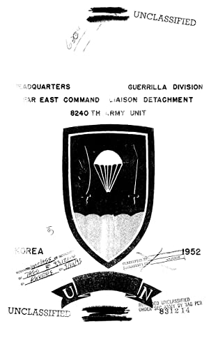 Guerrilla Operations Outline, 1952. (English Edition)