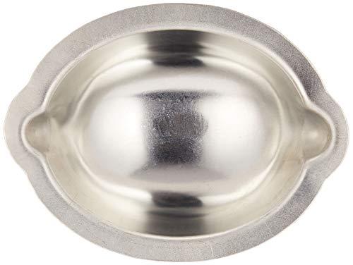 遠藤商事 マドレーヌ型 シルバー (内寸)幅×奥行×深さ(mm):78×54×28 業務用 レモンケーキ型 WLM02