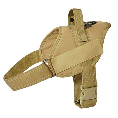 Working Dog Patrol Harness Coyote Brown Redline K9 (Large)