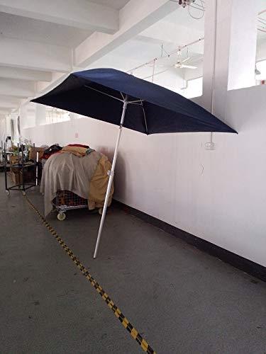 Bootsschirm Sonnenschirm für Boote Farbe blau