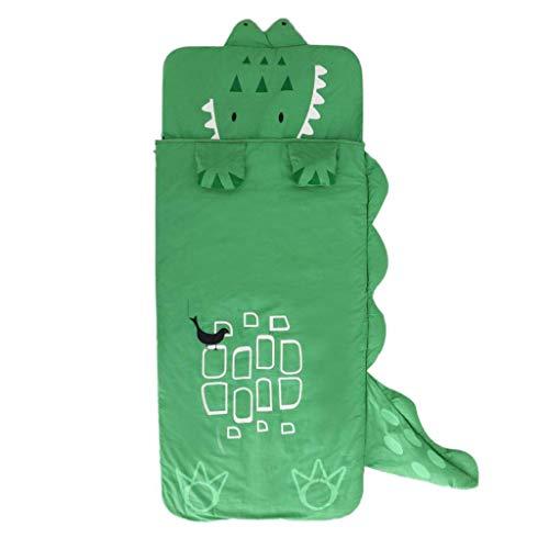 Tubayia Krokodil Kinder Schlafsack Deckenschlafsack Reiseschlafsack für Camping Reisen