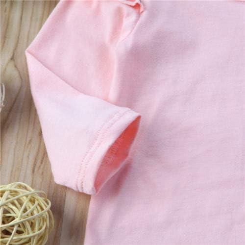 traje de manga larga diadema pantal/ón flamenco Pelele para beb/é o ni/ña 3 piezas Carolilly