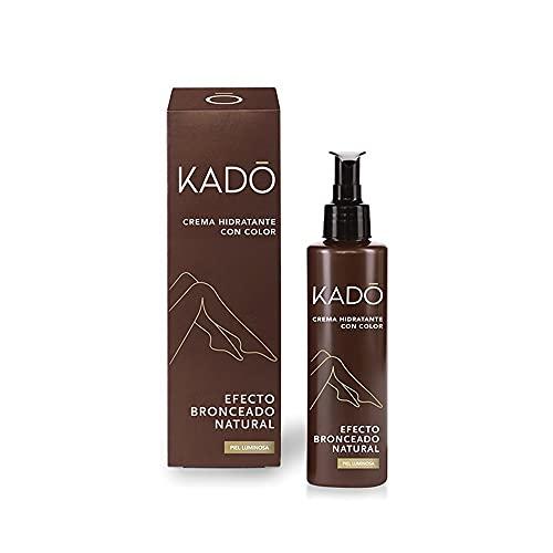 Kado Crema Corporal Hidratante Con Color Efecto Bronceado Natural - 150 ml.