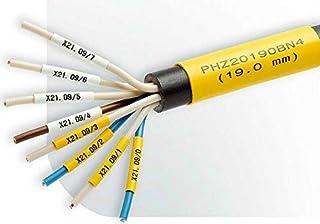 Hilltop Products Ltd Gaine thermorétractable sans halogène Imprimable Blanc 8,9 cm