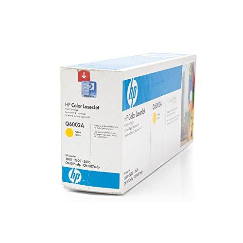 Hewlett -Packard Q6002A Toner gelb / yellow für HP 2600N/1600