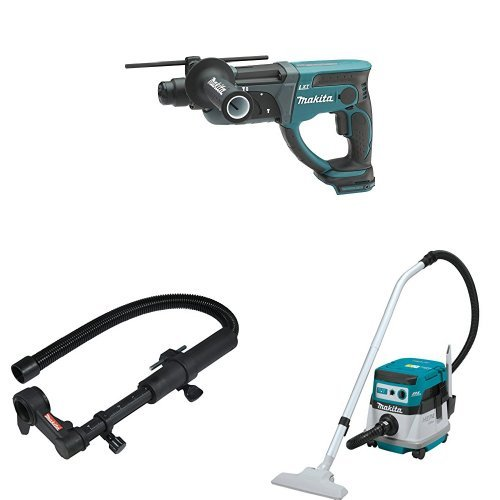Learn More About Makita XRH05Z 18V X2 LXT (36V) 1-Inch Rotary Hammer (Tool Only), 193472-7 Dust Extr...