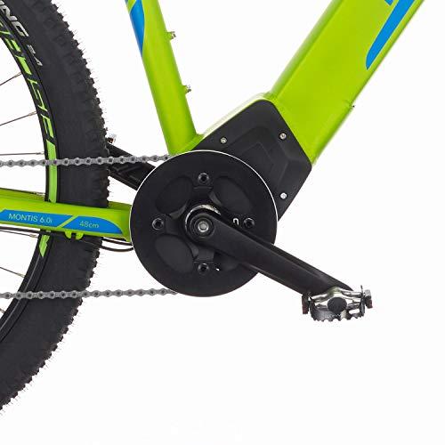 E-MTB FISCHER  MTB MONTIS 60i (2019) grün E-Mountainbike Bild 2*