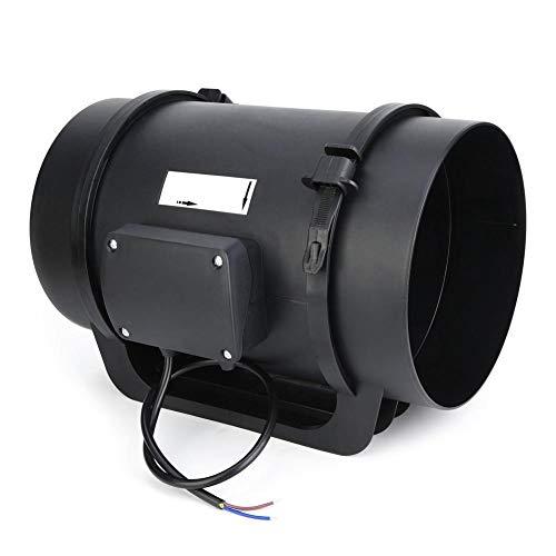 Entlüftungsgebläsekanalventilator mit EC-Motor und einstellbarer Drehzahl 760CFM-Baumaterial Inline-Kanal für Krankenhäuser für Hotels für öffentliche Orte(220V)