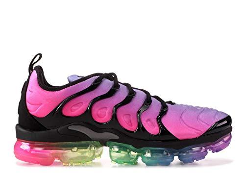 WQINSHOE Zapatillas de correr para hombre y mujer, ultraligeras, transpirables, zapatillas de deporte, aumentan la caminata., color Negro, talla 59 EU