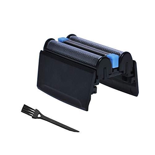Poweka Ersatz Scherkopf && Reinigungsbürste kompatible mit Braun 5 Serie 52B Elektrischer Rasierer 5020S 5030S 5040S 5050S 5070S 5090CC 52B 52S Serie