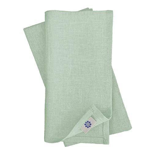 Linen & Cotton Set de 4 Servilletas de Tela Hygge - 100%...