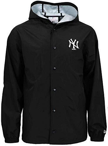 A NEW ERA Herren MLB Hooded Coaches JKT Neyyan Jacket, schwarz, L