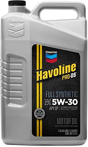 HAVOLINE 223507474 PRO DS Full Synthetic 5W30 Oil, 5 quart
