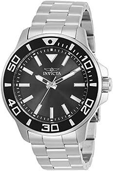 Invicta Pro Diver Quartz Charcoal Dial Men's Watch