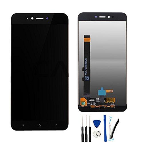 SOMEFUN Pantalla LCD Repuestos Compatible con Xiaomi Redmi Note 5A (2GB RAM)/ Redmi Y1 Lite LCD Pantalla Táctil Digitalizador Asamblea de Vidrio (Negro)