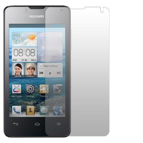 Slabo 2 x Bildschirmschutzfolie Huawei Ascend Y300 Bildschirmschutz Schutzfolie Folie Crystal Clear unsichtbar Made IN Germany