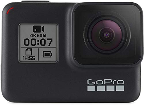 GoPro Hero7 Black — Waterproof Action Camera with Touch Screen 4K Ultra HD...