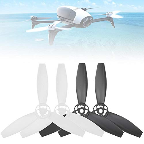 RC Drone Propeller Blade, 4-teilig RC Quadcopter Propeller Blade Upgrade-Teile Kompatibel mit Bebop 2 Drone(Typ C.)