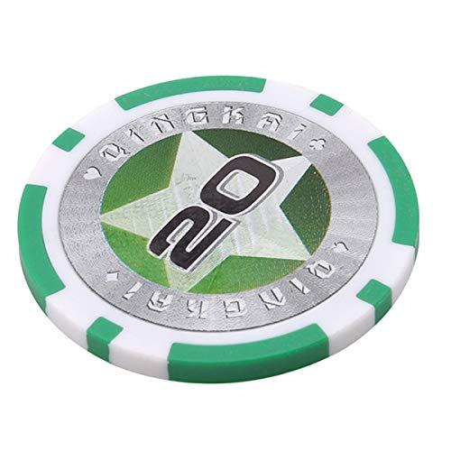 Winwinfly 1 Satz Kasinochips Texas Hold'em Poker Chips Pokerstars (Nummer 20)