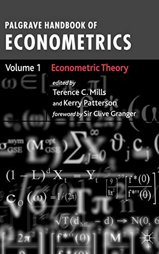 Palgrave Handbook of Econometrics: Volume 1: Econometric Theory