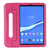 KAVON Niños Funda para Lenovo Tab M10 FHD Plus 10.3'/TB-X606F, Mango a Prueba de Golpes Soporte Funda Protectora Ligero EVA Kids para TB-X606X (Rose)