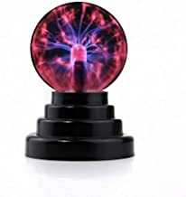 PowerTRC USB Powered Plasma Ball | USB Powered | Science Toy | Electronic Plasma Light Gadget | Desk Toy | Classroom Accessory