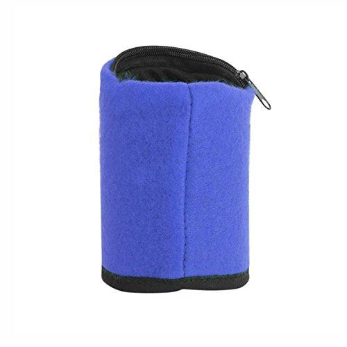 EgBert Honana Hn-B9 3 Farben Zipper Wristband Organizer Pocket Card Coin Key Storage Bag Sport Wallet - Blau