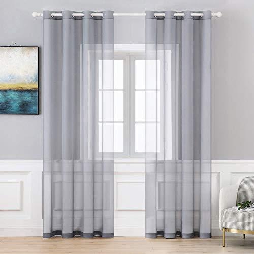 cortinas salon gris claro