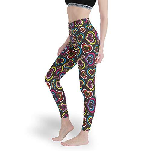 Generic Branded Mädchen Viele Farben Leggings Super Solid Yoga Hosen Cool Capris Tights für WorkoutRegenbogen White xs