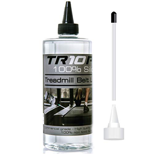 TR10Pro Treadmill Silicone Oil Lubricant For Treadmill Belt-Deck 500ml Use For Equipment Applications Extra Long Control Flow Applicator Fast & Easy To Use On All Treadmills In Gyms/Homes