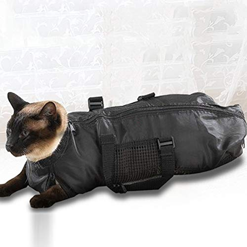 Honelife Portable pet cat Grooming Beauty pet Bag Breathable cat Bathing Bag Carrying case