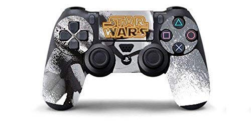 STAR WARS Skin Cover Joystik PS4 HD CONTROLLER WIRELESS DUALSHOCK 4 PLAYSTATION 4 limited edition DECAL ADESIVA