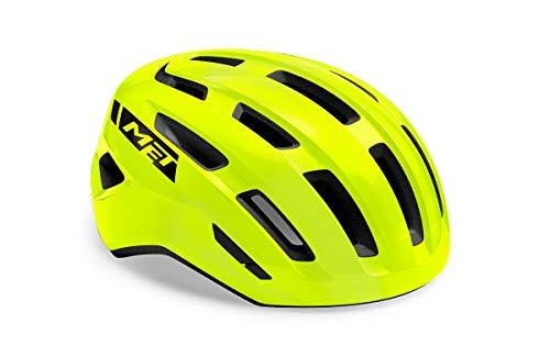 MET Miles MIPS - Casco para bicicleta de montaña (talla M), color amarillo